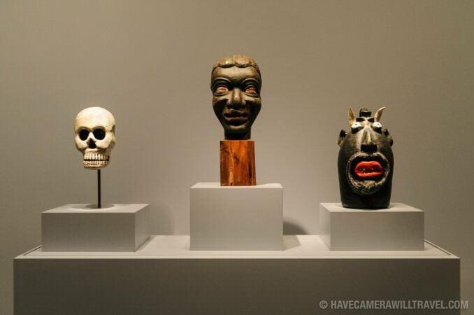 Photo of Smithsonian American Art and Portraiture Museum Folk Art Exhibit