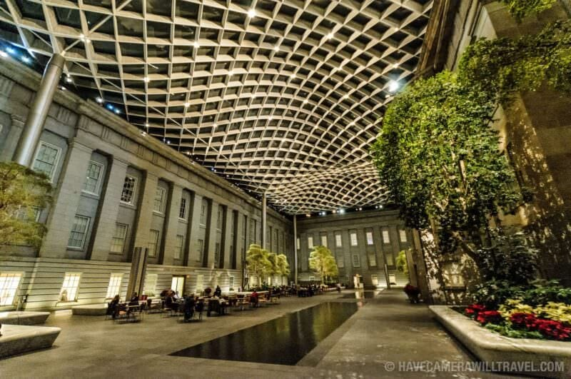 Photo of Smithsonian American Art and Portraiture Museum Interior Courtyard