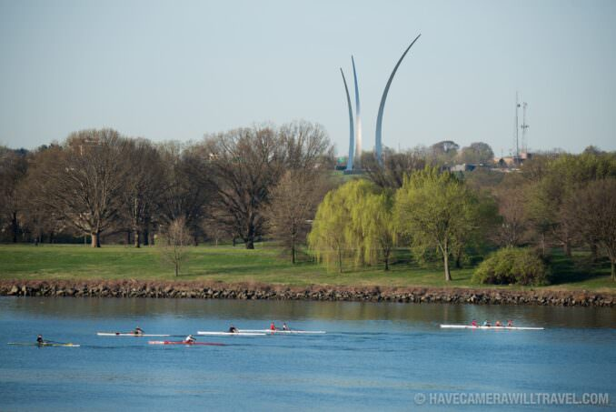 Potomac and the Air Force Memorial