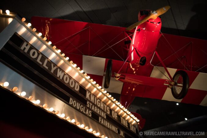 Red Baron at the Smithsonian National Air and Space Museum in Washington DC