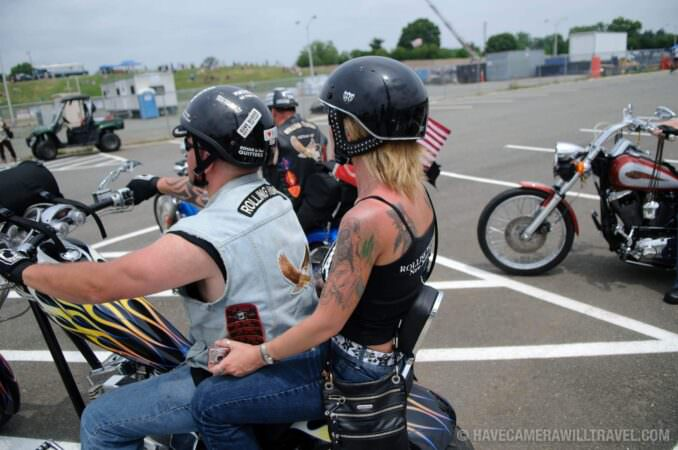 Rolling Thunder Motorcycle Rally beginning