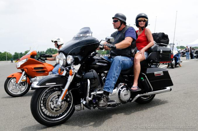 Rolling Thunder Motorcycle Rally Participants