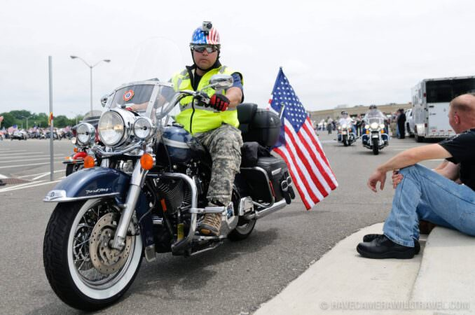 Rolling Thunder Motorcycle Rally Rider