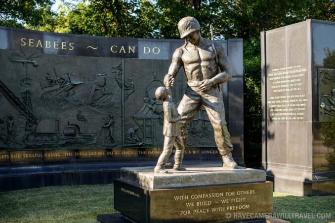 Seabees Monument at Arlington National Cemetery