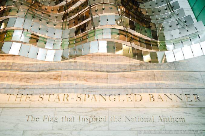 Star Spangled Banner exhibit
