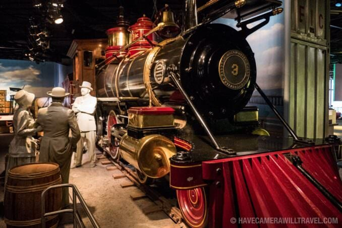 Steam Train Jupiter at the Smithsonian American History Museum