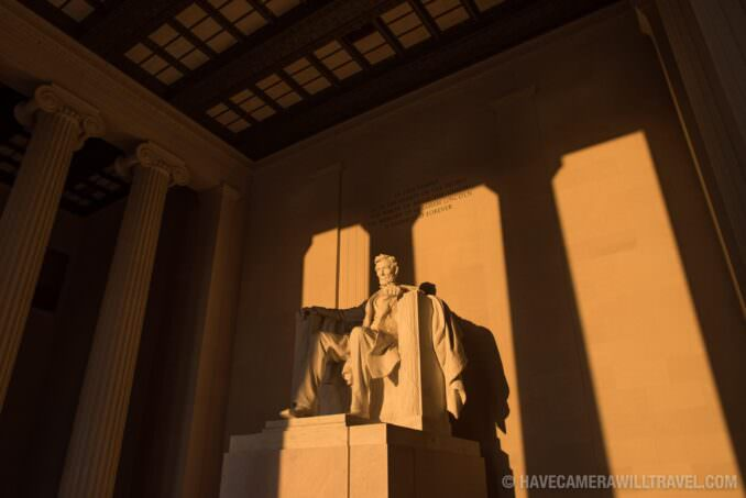 Sunrise at the Lincoln Memorial During the Equinox