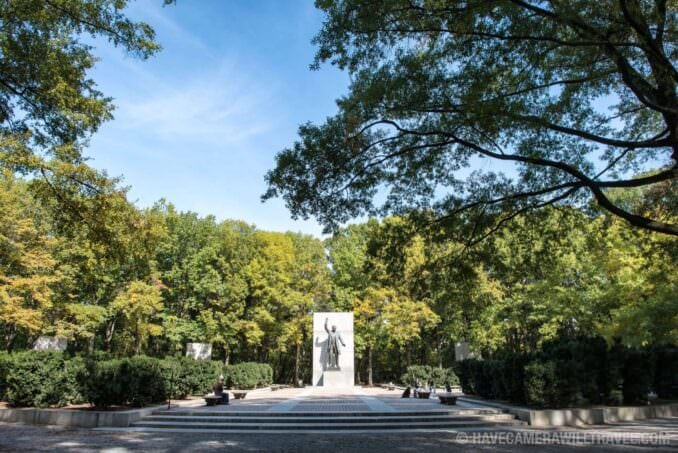 Theodore Roosevelt Memorial in the Trees
