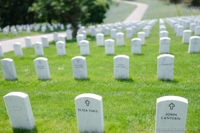 Tilt-shift at Arlington National Cemetery