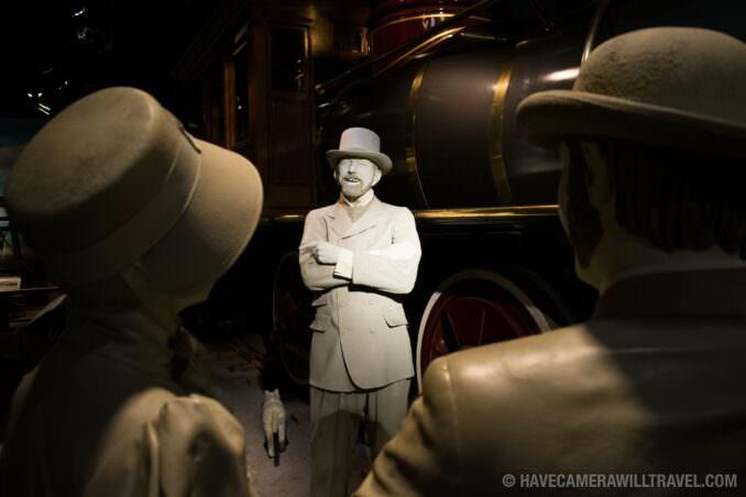 Train Exhibit at Smithsonian National Museum of American History, Washington DC