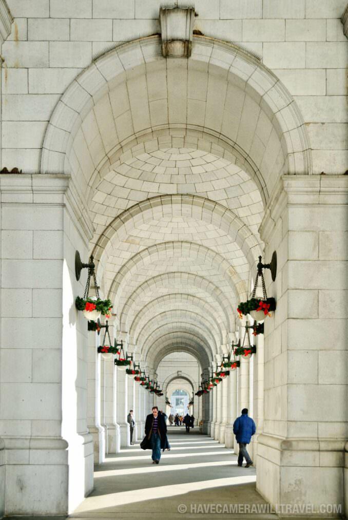 Union Station arches