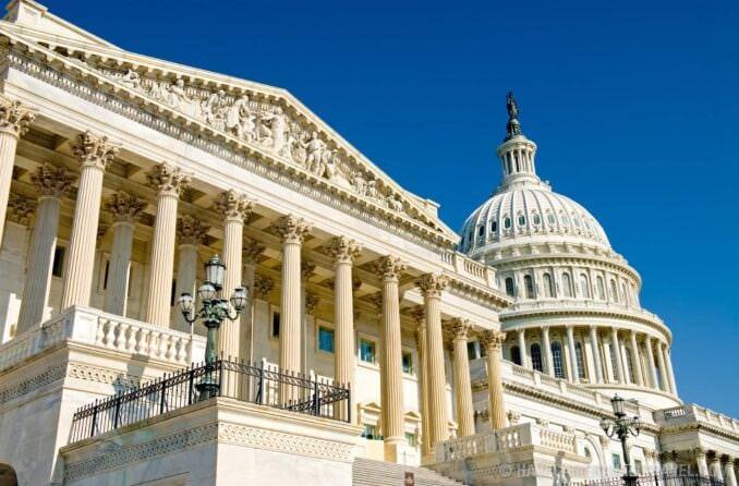 US Capitol Building, Washington DC.