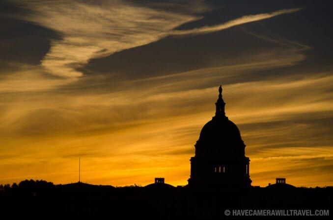 US Capitol Dome Sunrise