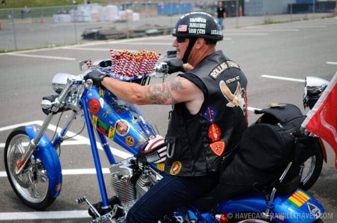 Vietnam Veteran Rolling Thunder Motorcycle Rally