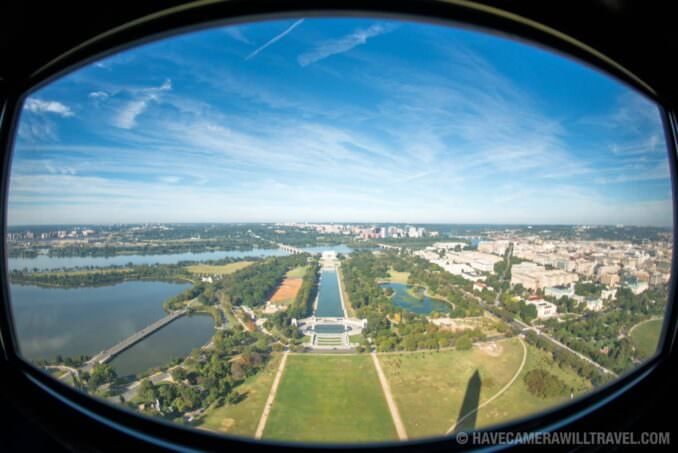 View West from the Top of the Washington Monument