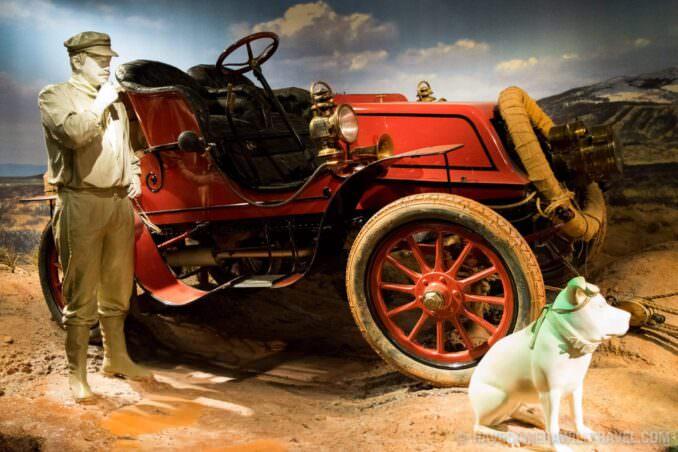 Vintage Car at Smithsonian National Museum of American History, Washington DC