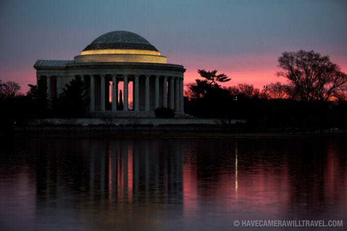Washington DC Cherry Blossoms - March 7, 2017
