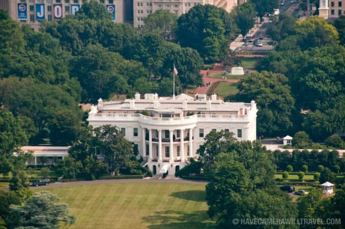 White House from Washington Monument