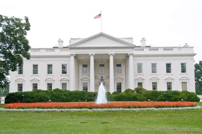 White House North Entrance