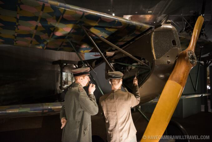 World War I Plane at the Smithsonian National Air and Space Museum in Washington DC