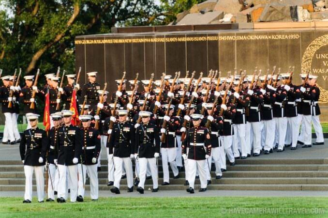 Marine Corps Sunset Parade