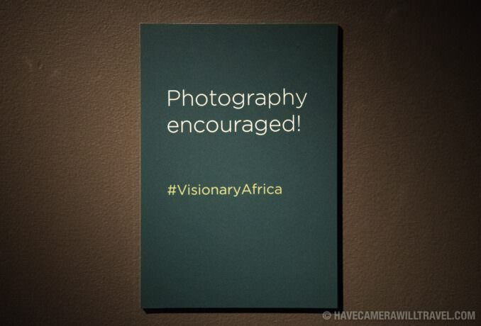 Smithsonian National Museum of African Art Photography Sign