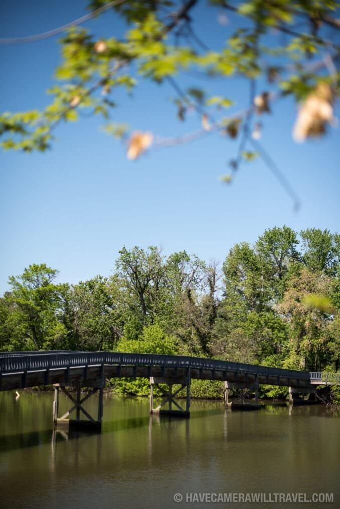 LBJ Memorial Grove Washington DC Bridge