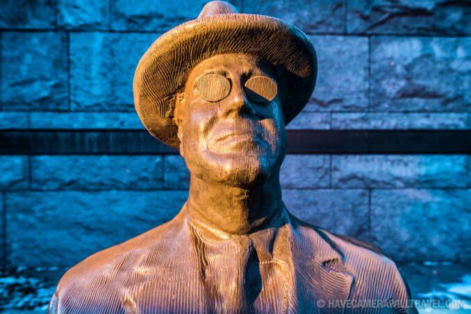 FDR Memorial in Washington DC