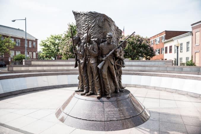 African American Civil War Memorial in Washington DC