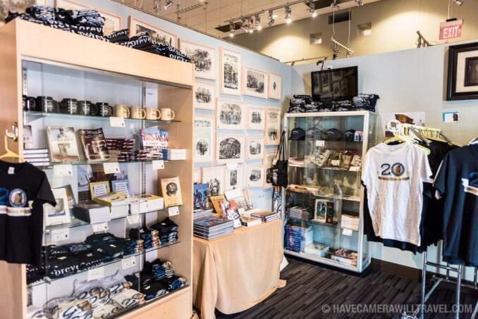 Gift Shop at the African American Civil War Memorial in Washington DC