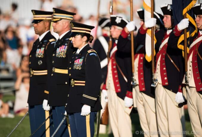 Army Twilight Parade at Fort Myer, Virginia
