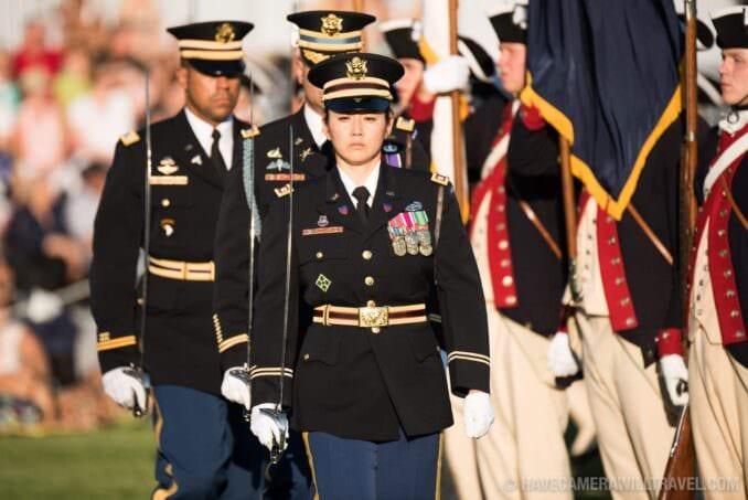 Army Twilight Tattoo Parade