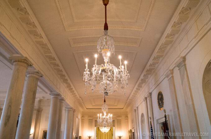 Inside the White House in Washington DC