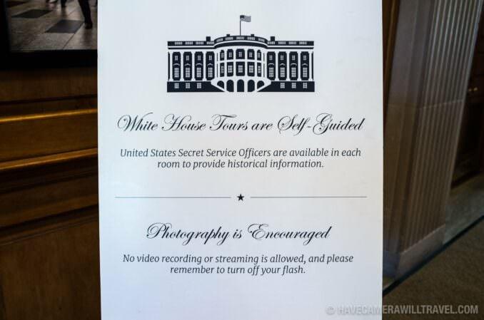 White House Tour Photography